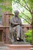 Theodore Dwight Woolsey Statue Yale University, CT, USA Fotografering för Bildbyråer
