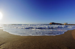 Theodore island off the coast of Crete Stock Photo