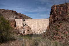 Theodore Roosevelt Dam, Arizona, USA Stock Image