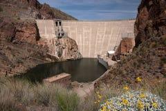 Theodore Roosevelt Dam, Arizona, USA Stock Photo