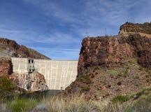 Theodore Roosevelt Dam, Arizona, USA Royalty Free Stock Photos