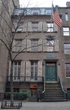 Theodore Roosevelt födelseort, New York City Royaltyfria Bilder