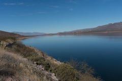 Theodore Roosevelt jezioro w południowym Arizona obraz stock