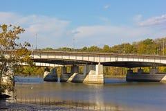 Theodore Roosevelt Memorial bridge in autumn, Washington DC. Stock Photo