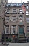 Theodore Roosevelt miejsce narodzin, Miasto Nowy Jork Obrazy Royalty Free