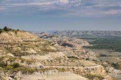 Theodore Roosevelt National Park, het Noordeneenheid royalty-vrije stock afbeelding