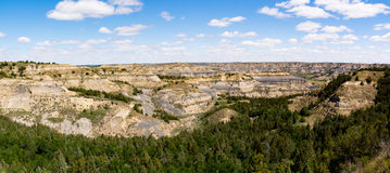 Theodore Roosevelt National Park Landscapes. Various landscapes of Theodore Roosevelt National Park in North Dakota Stock Images