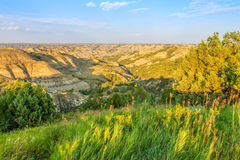 Theodore Roosevelt National Park. North Unit landscape Stock Photos