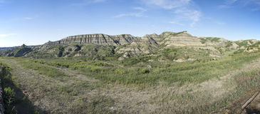 Theodore Roosevelt National Park Panoramic Royalty Free Stock Images