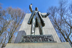 Theodore Roosevelt Statue at Theodore Roosevelt Island royalty free stock images