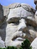 Theodore Roosevelt vänder mot på Mount Rushmore, South Dakota, USA fotografering för bildbyråer