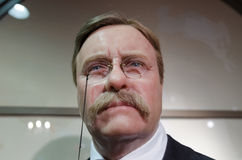 Theodore Roosevelt vaxdiagram Royaltyfri Fotografi