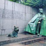 Theodore Roosevelt zabytek Zdjęcie Royalty Free