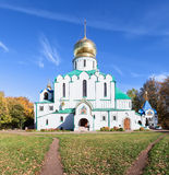 Theodore Sovereign's Cathedral in Pushkin, Russia Royalty Free Stock Images
