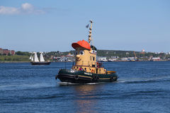 Theodore Too Boat in Halifax Stock Images