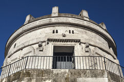 theodoric mausoleum royaltyfria foton