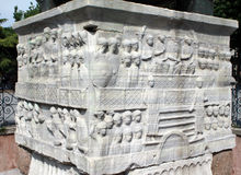 theodosius οβελίσκων της Κωνστα&nu Στοκ φωτογραφίες με δικαίωμα ελεύθερης χρήσης