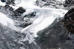 Theodul lodowiec w Szwajcarskich Alps, Zermatt, Szwajcaria zdjęcie stock