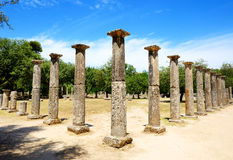 Theokoleon ruins in ancient Olympia Royalty Free Stock Images