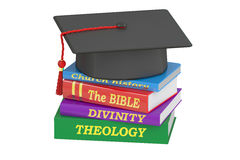 Theology education, 3D rendering Royalty Free Stock Photo