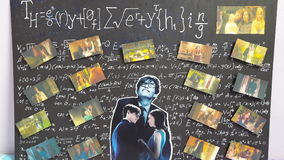 Theory of Everthing. Presentation movie review stephen hawking Stock Photos