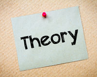 Theory Royalty Free Stock Images