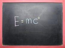 Theory of Relativity Royalty Free Stock Photography