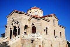 Theoskepasti kościół, Paphos, Cypr obrazy royalty free
