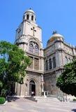 Theotokos大教堂的Dormition在瓦尔纳,保加利亚 免版税库存图片