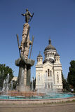 Theotokos大教堂的Dormition,科鲁Napoca  库存图片