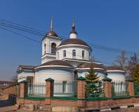 Theotokos of Vladimir church (1833). Kraskovo, Russia Stock Photo