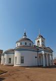 Theotokos of Vladimir church (1833). Kraskovo, Russia Royalty Free Stock Images