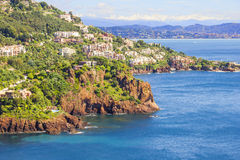 Theoule sur Mer, South of France Stock Image