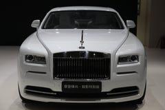 Thephantom av Rolls Royce den speciala upplagan Arkivbilder