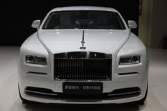 Thephantom de l'Édition spéciale de Rolls Royce Images stock