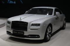 Thephantom de l'Édition spéciale de Rolls Royce Photo libre de droits