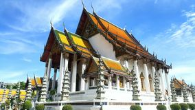 Thepvararam Wat Sutat стоковое фото rf