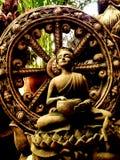 Thera Upagupta war ein Schüler von Buddha-` s Begleiter Ananda lizenzfreie stockbilder