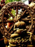 Thera Upagupta was a disciple of Buddha`s attendant Ananda . royalty free stock images