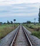 Therailway estira sin fin Foto de archivo libre de regalías