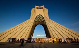 Theran塔,伊朗 库存图片