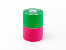 Therapeutic self adhesive tape. Stock Images