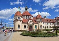 Free Therapeutic Spa In Sopot, Poland Royalty Free Stock Photos - 25359408