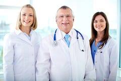 Therapeutists heureux Photos libres de droits