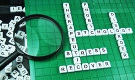 Therapie Stockfoto