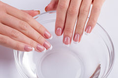 Therapy for nails. Stock Photos