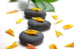 Therapy stones  Royalty Free Stock Images