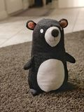 There's一头熊在议院里 免版税库存图片