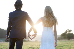 There's still love in the sunset Royalty Free Stock Images