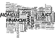 Is There Any Way To Get Out Of Debt Text Background  Word Cloud Concept. IS THERE ANY WAY TO GET OUT OF DEBT Text Background Word Cloud Concept Stock Images